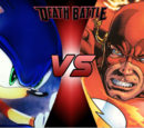 Sonic vs The Flash