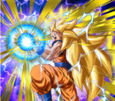 Heading for a Showdown Super Saiyan 3 Goku (Angel)