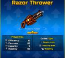 Razor Thrower