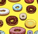 Фон «Пончики»