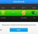 Daily Rewards