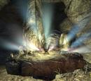 Das Grabmal unter dem Berg