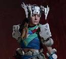 Banuk-Pionierin-Outfit