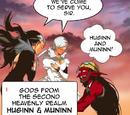 Huginn and Muninn (The God of High School)