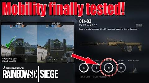 What is Mobility? - Rainbow Six Siege