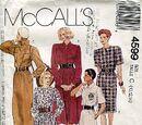 McCall's 4599 A