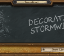 Decorating Stormwind