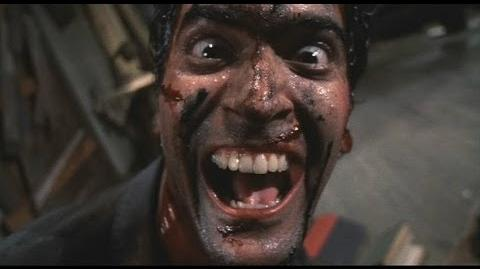 Evil Dead II Laughter Scene-0