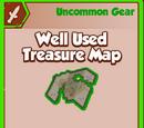 Well Used Treasure Map
