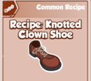 Knotted Clown Shoe