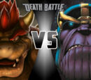 Bowser vs Thanos
