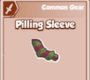 Pilling Sleeve
