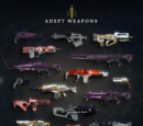 Destiny Weapons by Activity