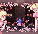 Peach en fleurs