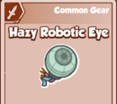 Hazy Robotic Eye