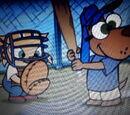 Baseball Catching Cat
