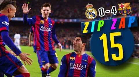 FC Barcelone vs Real Madrid - Zip Zap Football 15