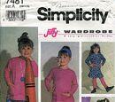 Simplicity 7481 C