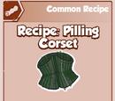 Pilling Corset
