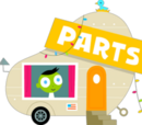 Parts Trailer