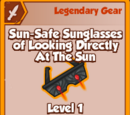 Sun-Safe Sunglasses of Looking Directly At The Sun (Legendary)