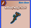 Knobby Magic Staff