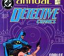 Detective Comics Annual Vol 1 1