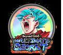 Awakening Medals: Super Saiyan God SS Goku