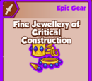 Fine Jewellery of Critical Construction