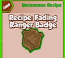 Fading Ranger Badge