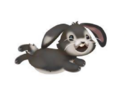 Black Bunny Playing.png