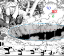 MAD SOULER/One Piece: Fujitora's meteor crater and Doflamingo's speed