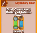 Dual-Chambered Battery of Infinite Power (Legendary)