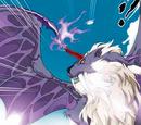 Purple Crystal Winged Lion King
