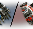 Open Cup Gloves