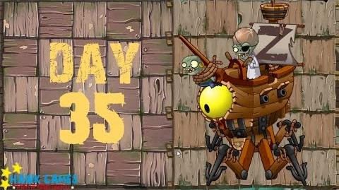 Pirate Seas - Day 35