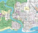 The Simpsons Springfield Map