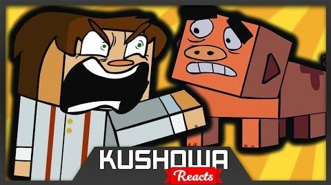 Kushowa Reacts to Minecraft Story Mode (Funny Animation)