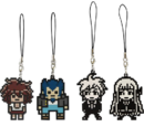 FuRyu Minna no Kuji Dot Rubber Mascots