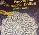American School of Needlework 1031 Favorite Pineapple Doilies of Rita Weiss