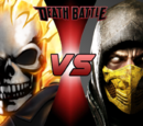 Ghost Rider vs. Scorpion