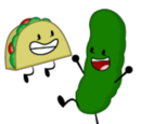 Pickle and Taco