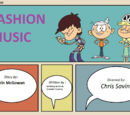 CartoniAnimatiMania/The Loud House - Episode Title Card - Fashion Music