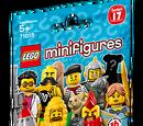 71018 Minifigures Série 17