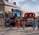 La Gran Carrera de Thomas y Bertie