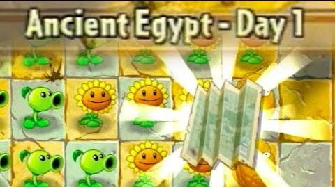 Ancient Egypt Day 1 - Plants vs Zombies 2 Its About Time