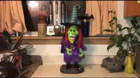 Gemmy Halloween Rare Variant Freaky Geeks Witch