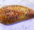 La dino aventura de Clarence y Sumo