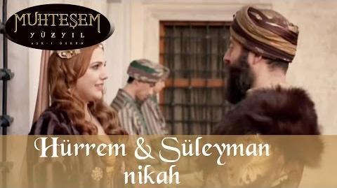 Свадьба Хюррем и Сулеймана