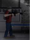 Hank wielding scoped M16A2.PNG